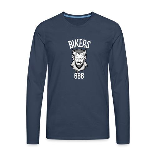 bikers 666 - T-shirt manches longues Premium Homme