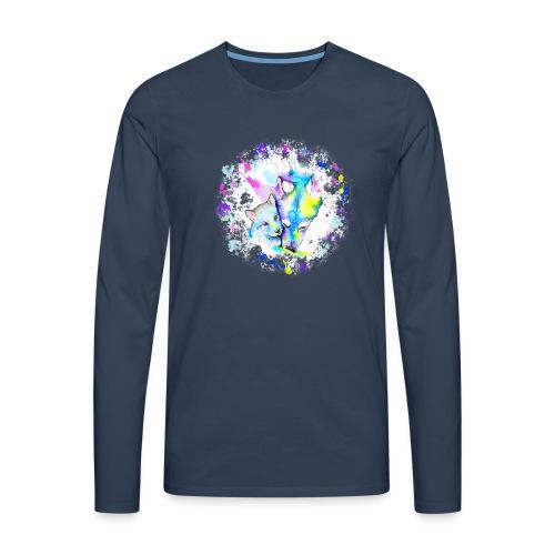 Loups - T-shirt manches longues Premium Homme