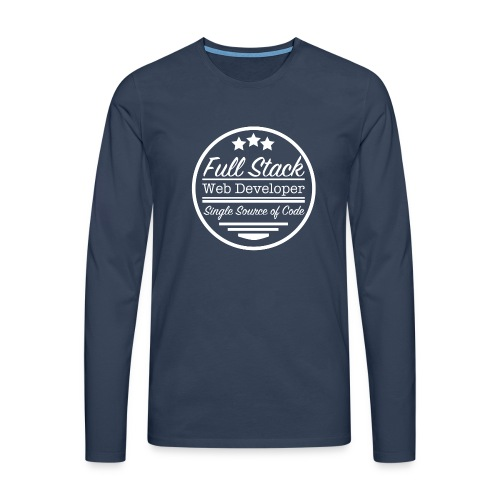 Full Stack Web Developer - Men's Premium Longsleeve Shirt