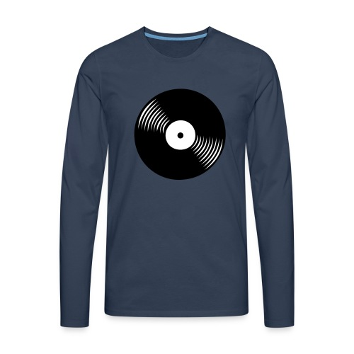 platte - Männer Premium Langarmshirt