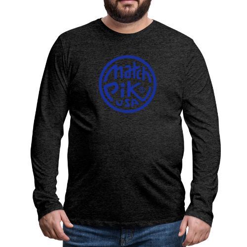 Scott Pilgrim s Match Pik - Men's Premium Longsleeve Shirt