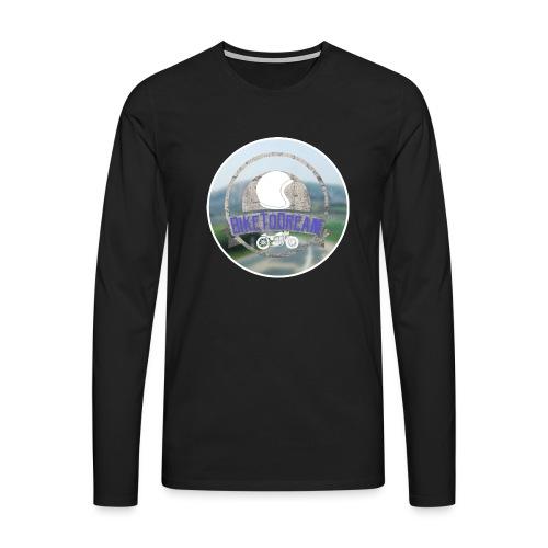 BikeToDream - T-shirt manches longues Premium Homme