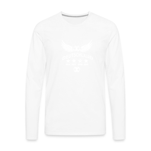 Germany football 2018 - Männer Premium Langarmshirt