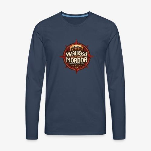 I just went into Mordor - Men's Premium Longsleeve Shirt