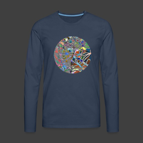 The joy of living - Men's Premium Longsleeve Shirt