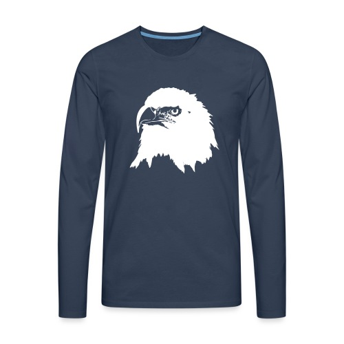 Steinadler - Männer Premium Langarmshirt