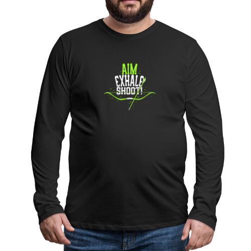 Bogenschütze - Männer Premium Langarmshirt