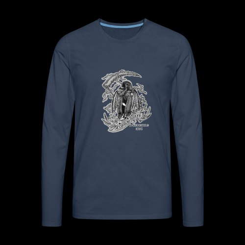LM REAPER SHIRT - Maglietta Premium a manica lunga da uomo