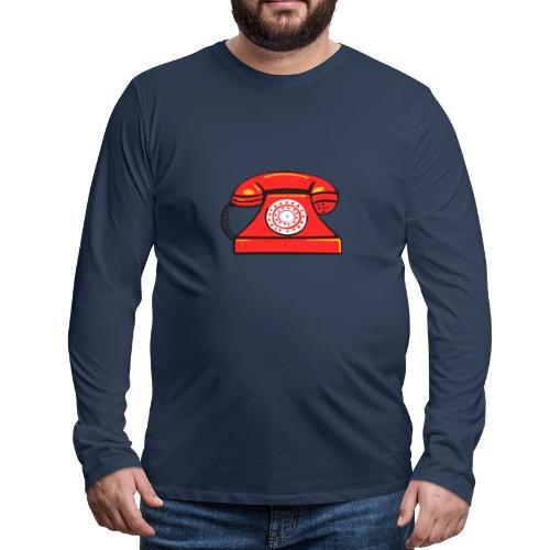 PhoneRED - Men's Premium Longsleeve Shirt