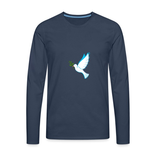 Dove of Peace - Men's Premium Longsleeve Shirt