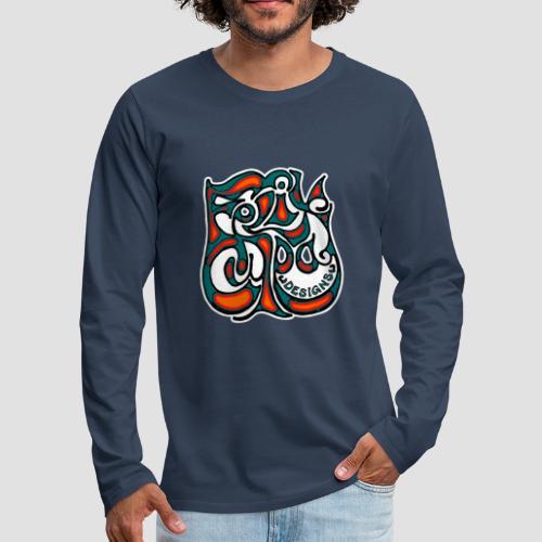 Felix Culpa Designs square logo - Men's Premium Longsleeve Shirt