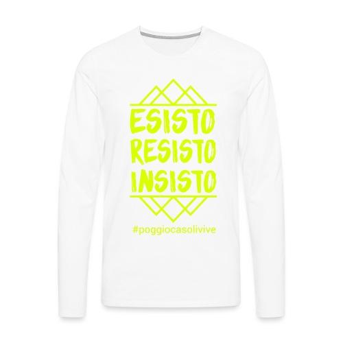 patch resisto - Maglietta Premium a manica lunga da uomo