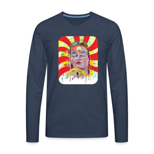 in the city of the future - Mannen Premium shirt met lange mouwen