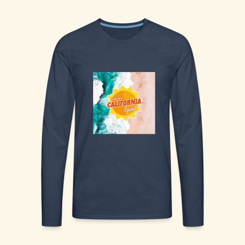 California Spirit Surfin - T-shirt manches longues Premium Homme