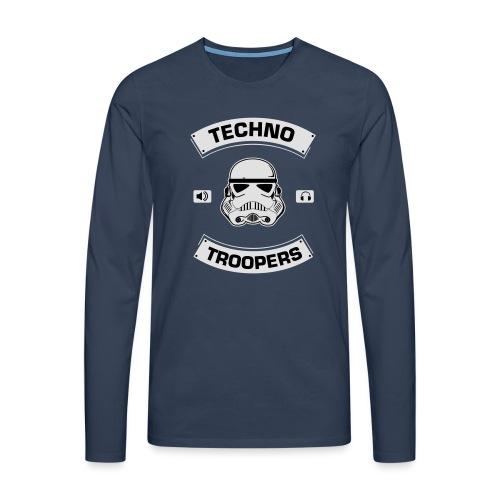 techno troopers - Männer Premium Langarmshirt