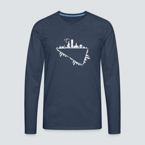 Heimatstadt png - Männer Premium Langarmshirt