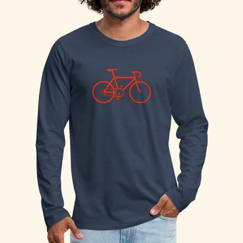 Rennrad, Race-Bike, Fahrrad - Männer Premium Langarmshirt