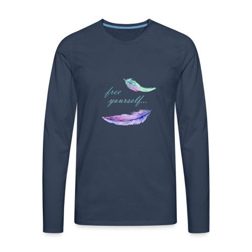 free yourself - Männer Premium Langarmshirt