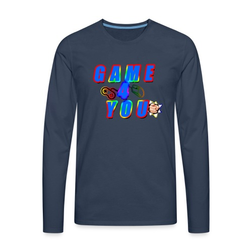 Game4You - Men's Premium Longsleeve Shirt