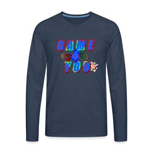 Game4You - Men's Premium Longsleeve Shirt