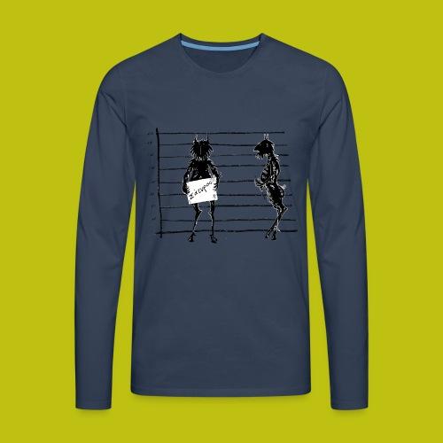 satiro - Camiseta de manga larga premium hombre