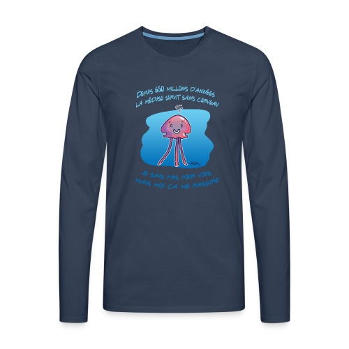 Meduse - T-shirt manches longues Premium Homme