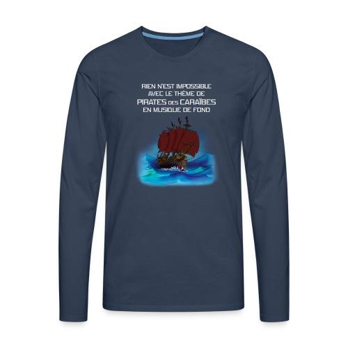 Rien-n'est-impossible tb - T-shirt manches longues Premium Homme