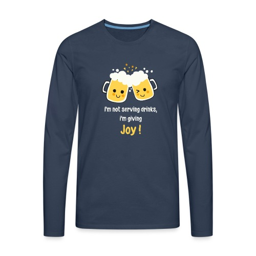 Giving Joy - Men's Premium Longsleeve Shirt