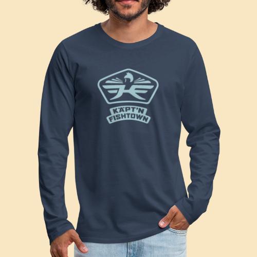 Käpt'n Fishtown - Männer Premium Langarmshirt