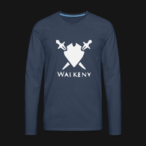 Walkeny Schwert Logo! - Männer Premium Langarmshirt