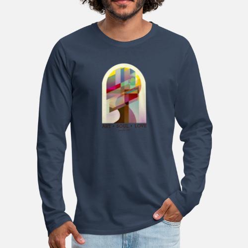 Farbenlehre - Männer Premium Langarmshirt