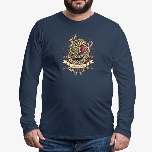 Drachengeist - Männer Premium Langarmshirt