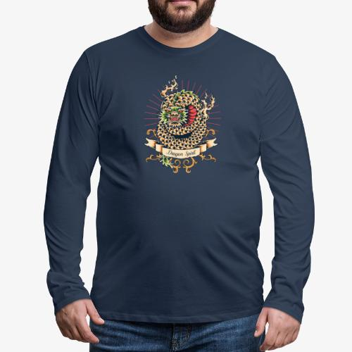Esprit de dragon - T-shirt manches longues Premium Homme