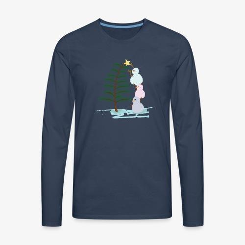 3bonhommesdeneige - T-shirt manches longues Premium Homme