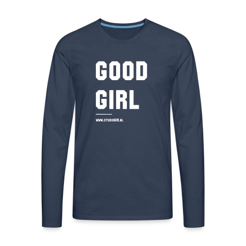 TANK TOP GOOD GIRL - Mannen Premium shirt met lange mouwen