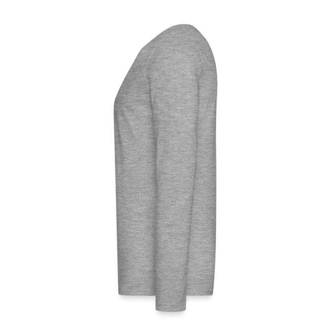 Vorschau: irgendwos hods oiwei - Männer Premium Langarmshirt