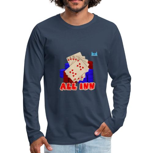 Royal Flush - Men's Premium Longsleeve Shirt