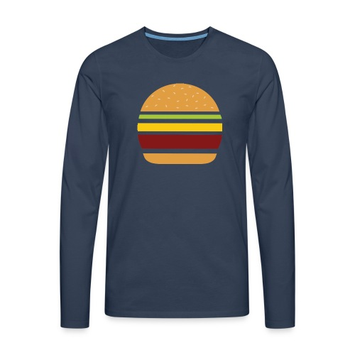 Logo Burger Panhamburger - T-shirt manches longues Premium Homme
