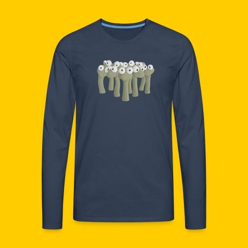 Worm gathering - Långärmad premium-T-shirt herr