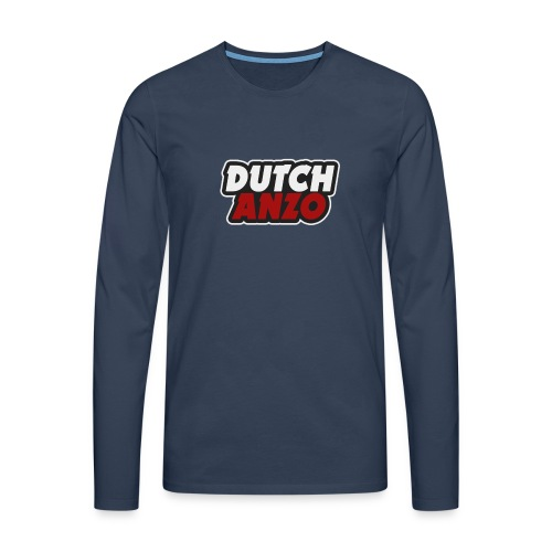 dutchanzo - Mannen Premium shirt met lange mouwen