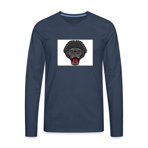 gorilla - Mannen Premium shirt met lange mouwen