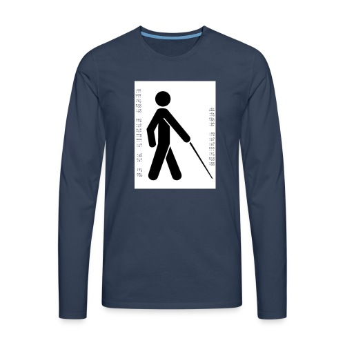 Blind T-Shirt - Men's Premium Longsleeve Shirt