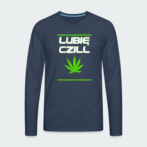 Męska Koszulka Premium Czill - Koszulka męska Premium z długim rękawem