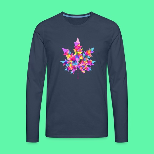 Mary Jane pink - Herre premium T-shirt med lange ærmer
