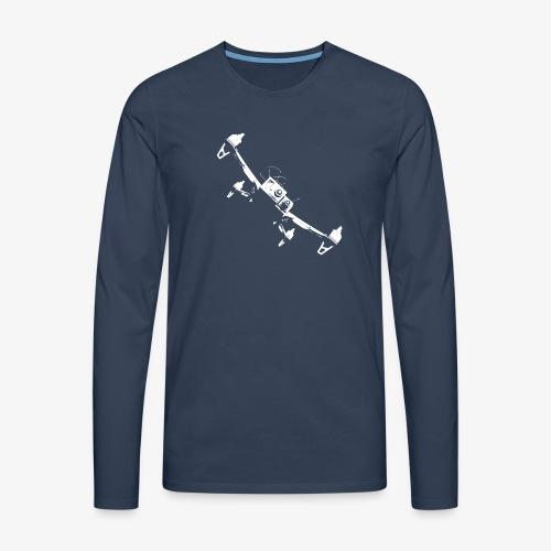 quadflyby2 - Men's Premium Longsleeve Shirt