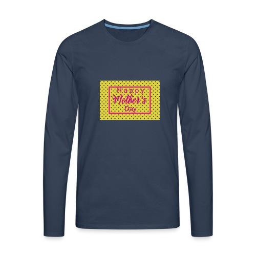 Muttertag - Männer Premium Langarmshirt