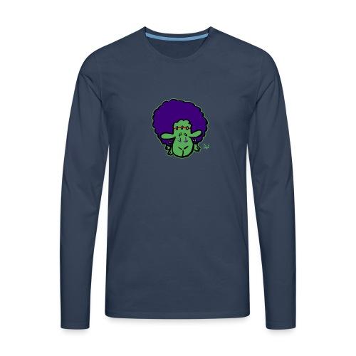 Frankensheep's Monster - Herre premium T-shirt med lange ærmer