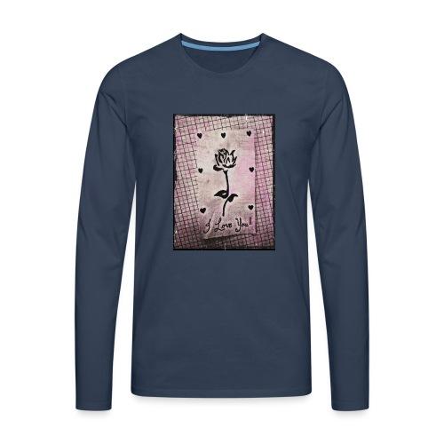 Love Blossom - Men's Premium Longsleeve Shirt