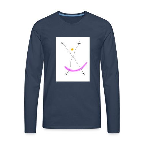 64FB8425 2DD5 4821 BDA2 8F0B9E31CF77 - Herre premium T-shirt med lange ærmer