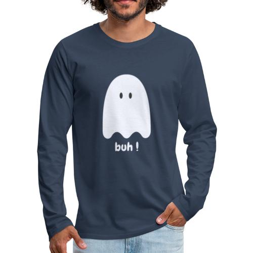 Buh ! - Herre premium T-shirt med lange ærmer